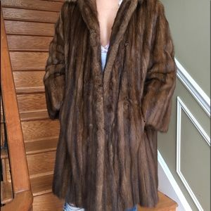 Real female lunaraine mink coat size M